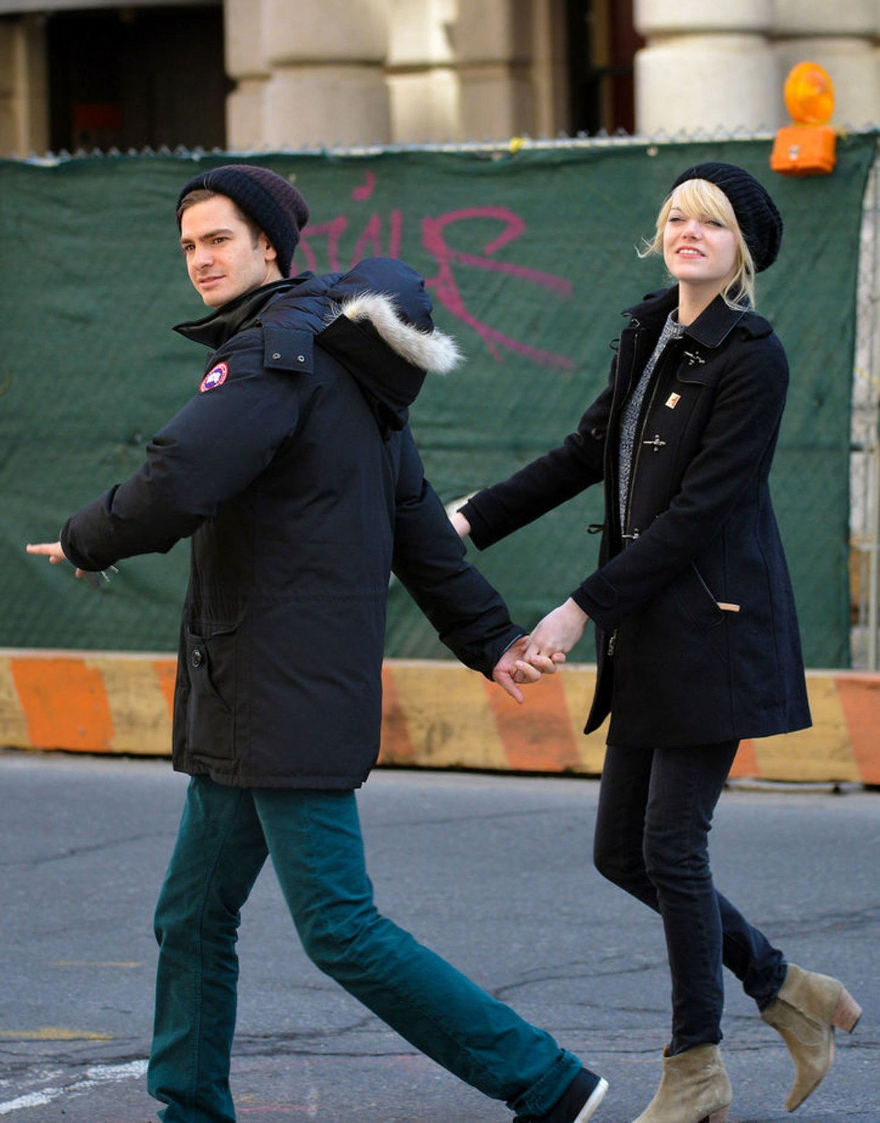 श्रेष्ठ in Celebrities: Emma Stone and Andrew Garfield