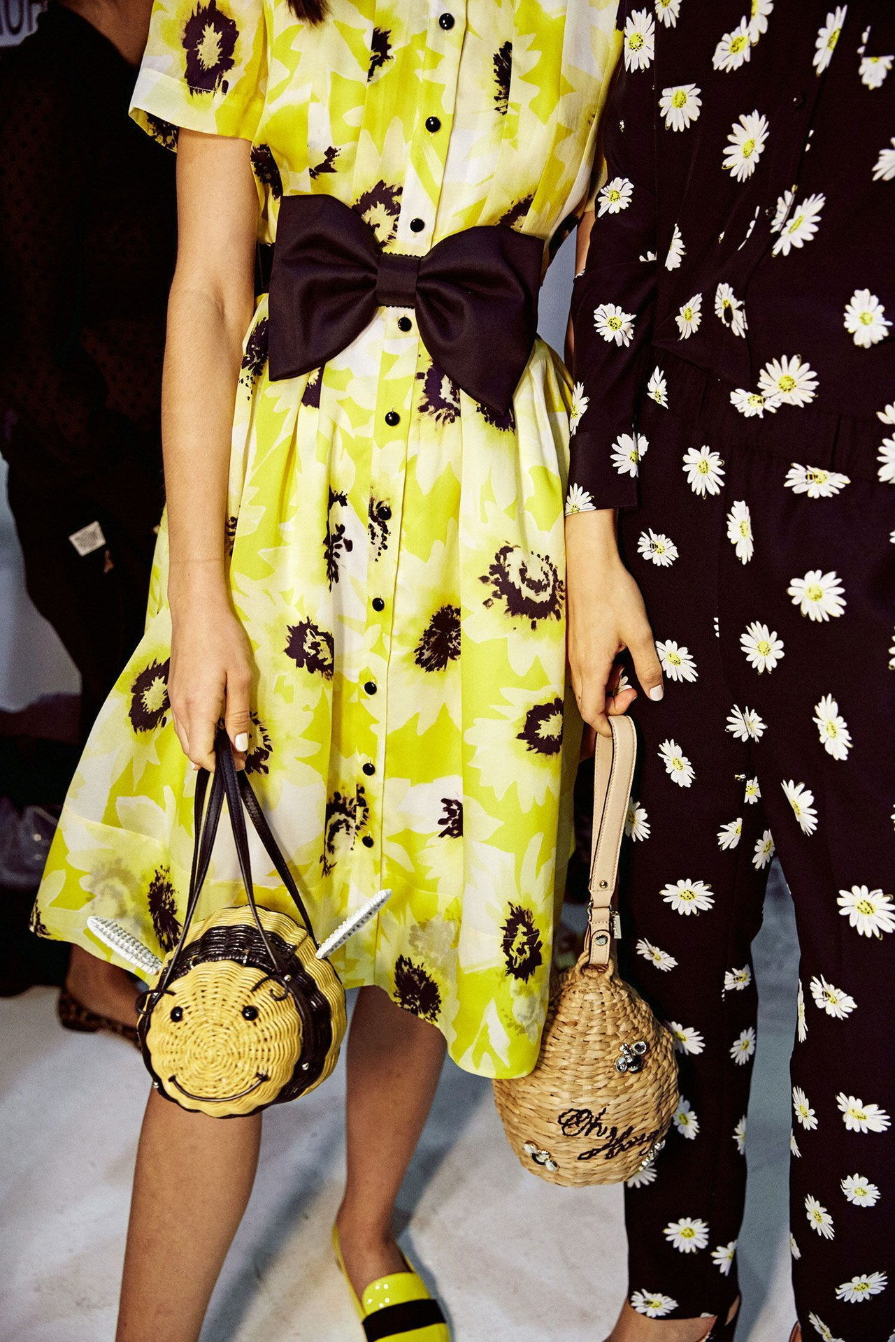 Καίτη spade spring 2016 yellow print dress