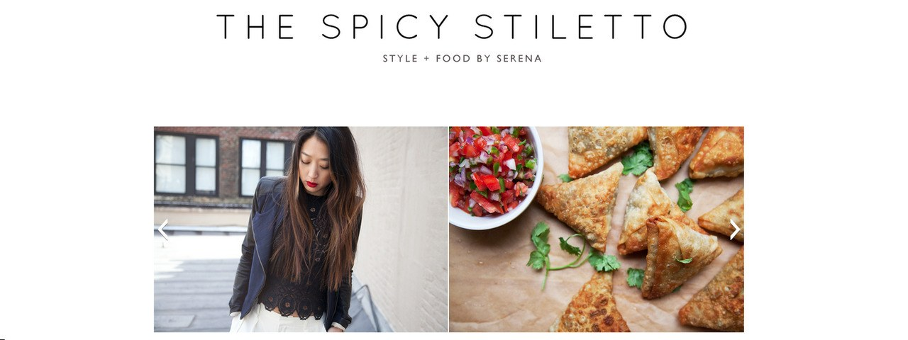 फैशन meets food blogs the spicy stiletto