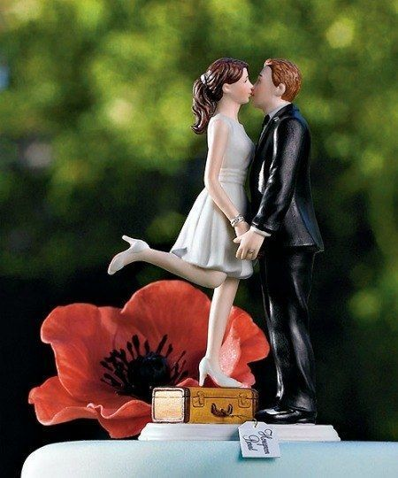 0425 2 wedding cake toppers we
