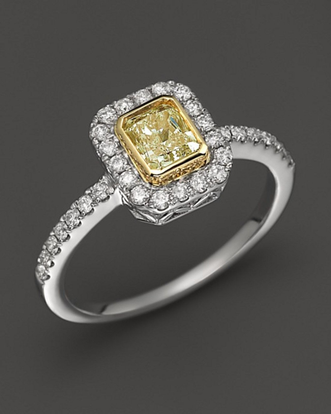 3 yelllow diamond engagement rings that look like kelly clarkson engagement ring 1216