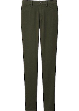 UNIQLO olive treggings, [$30](http://rstyle.me/n/bzb6y6823e)