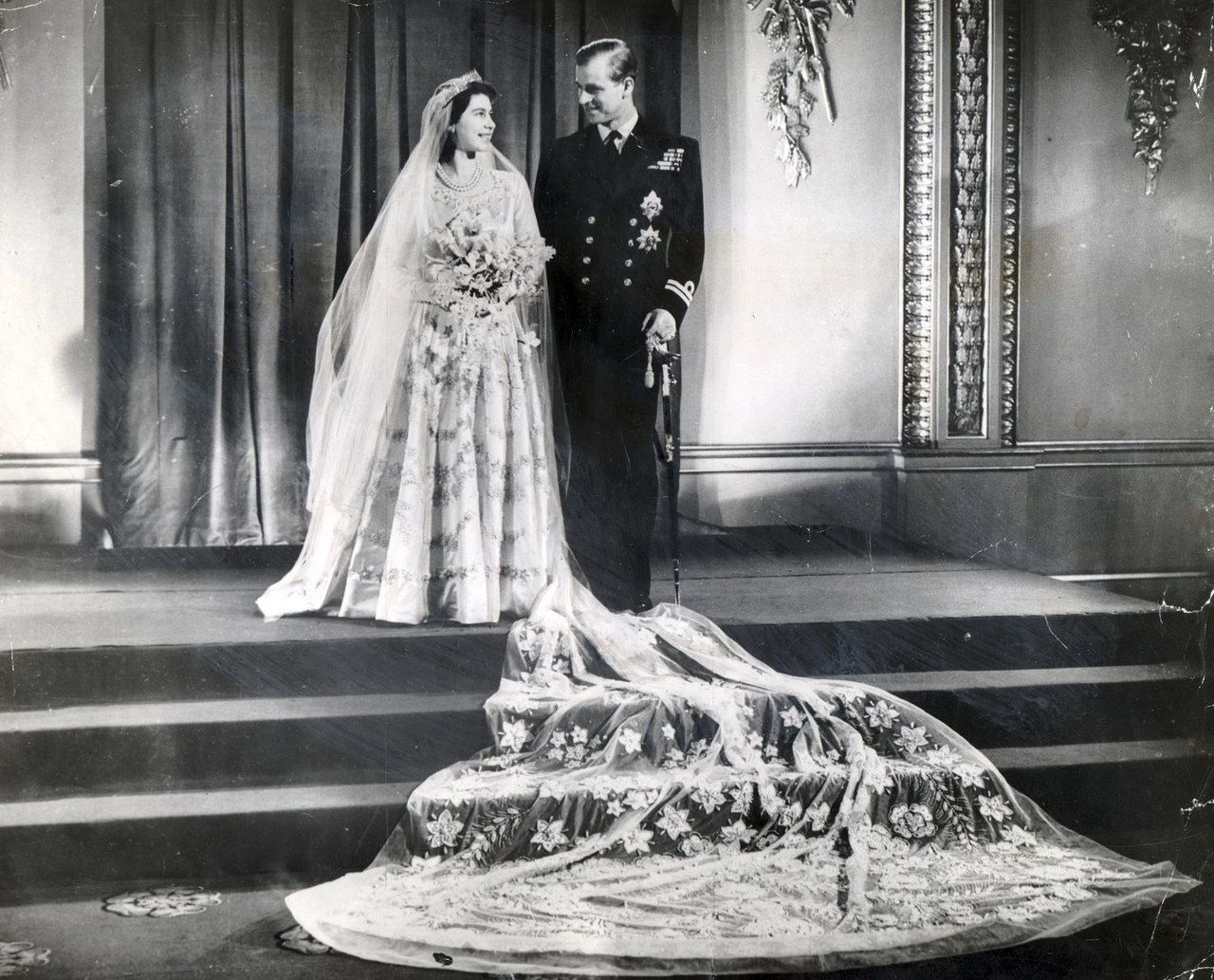 βασίλισσα elizabeth prince phillip wedding picture