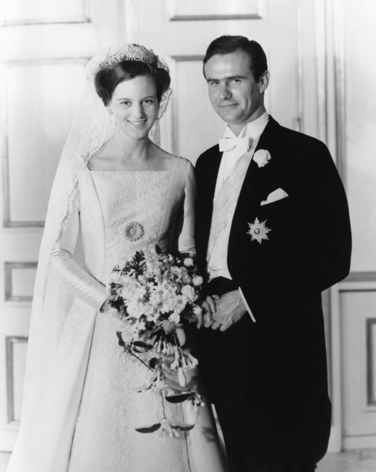πριγκίπισσα Margrethe denmark wedding picture