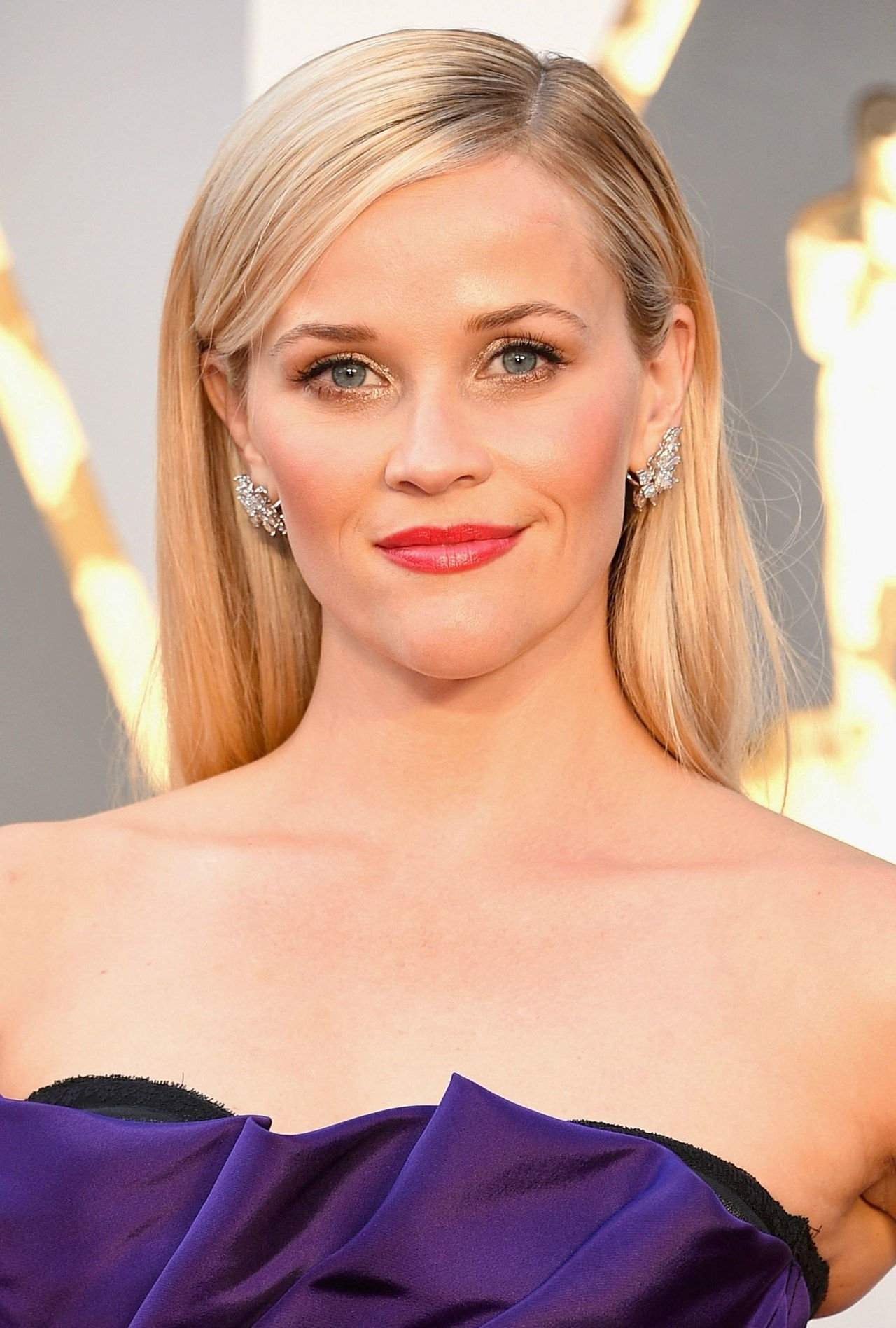 ऑस्कर 2016 hair makeup reese witherspoon