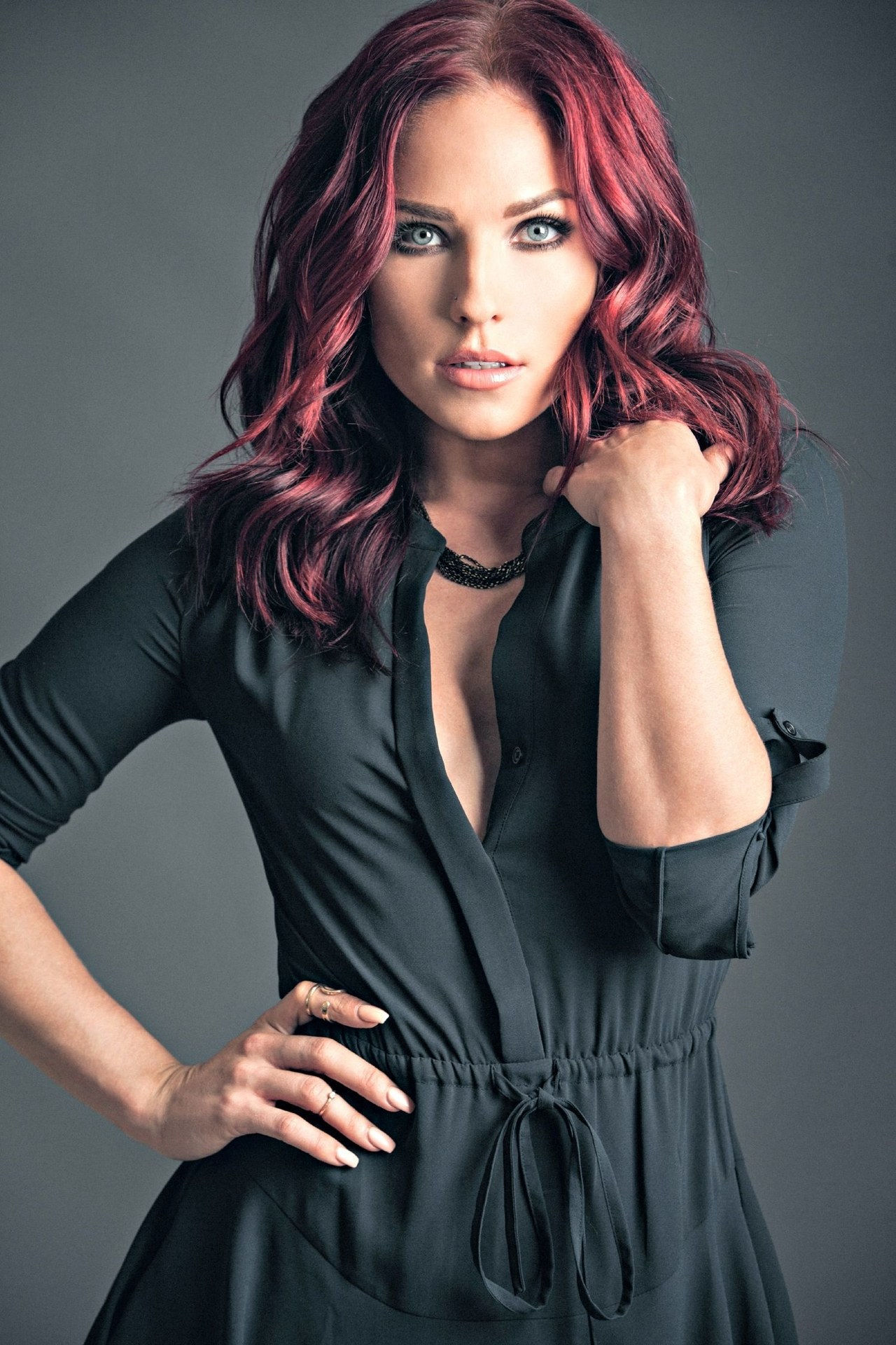 sharna burgess dwts red hair
