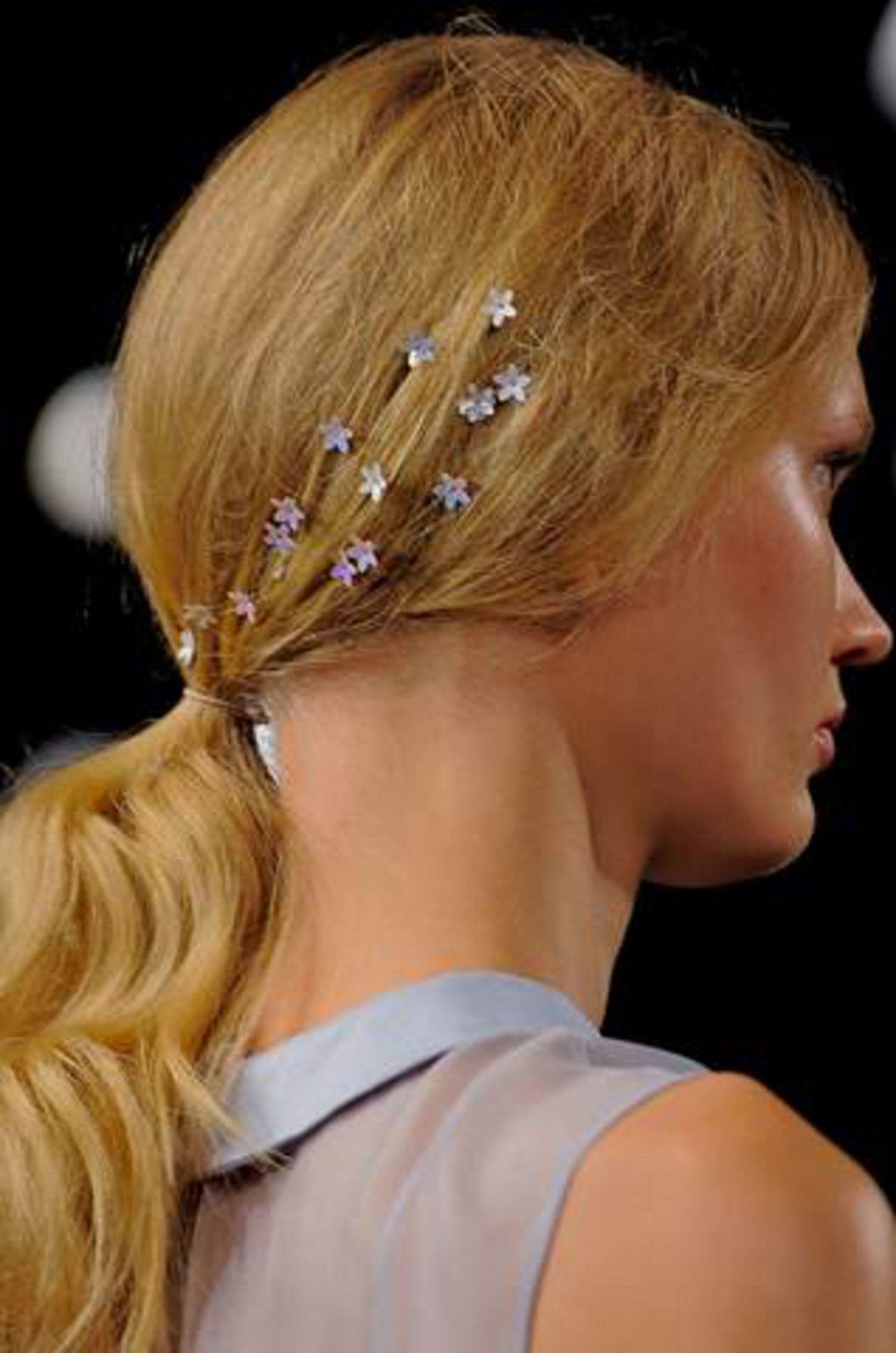 čast hair stickers spring 2014 fashion week