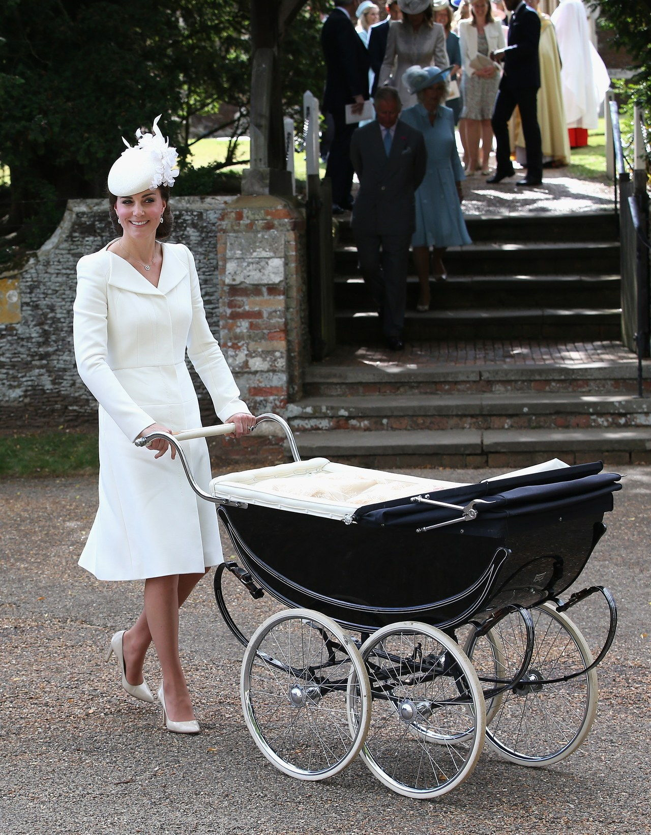 ה Christening Of Princess Charlotte Of Cambridge