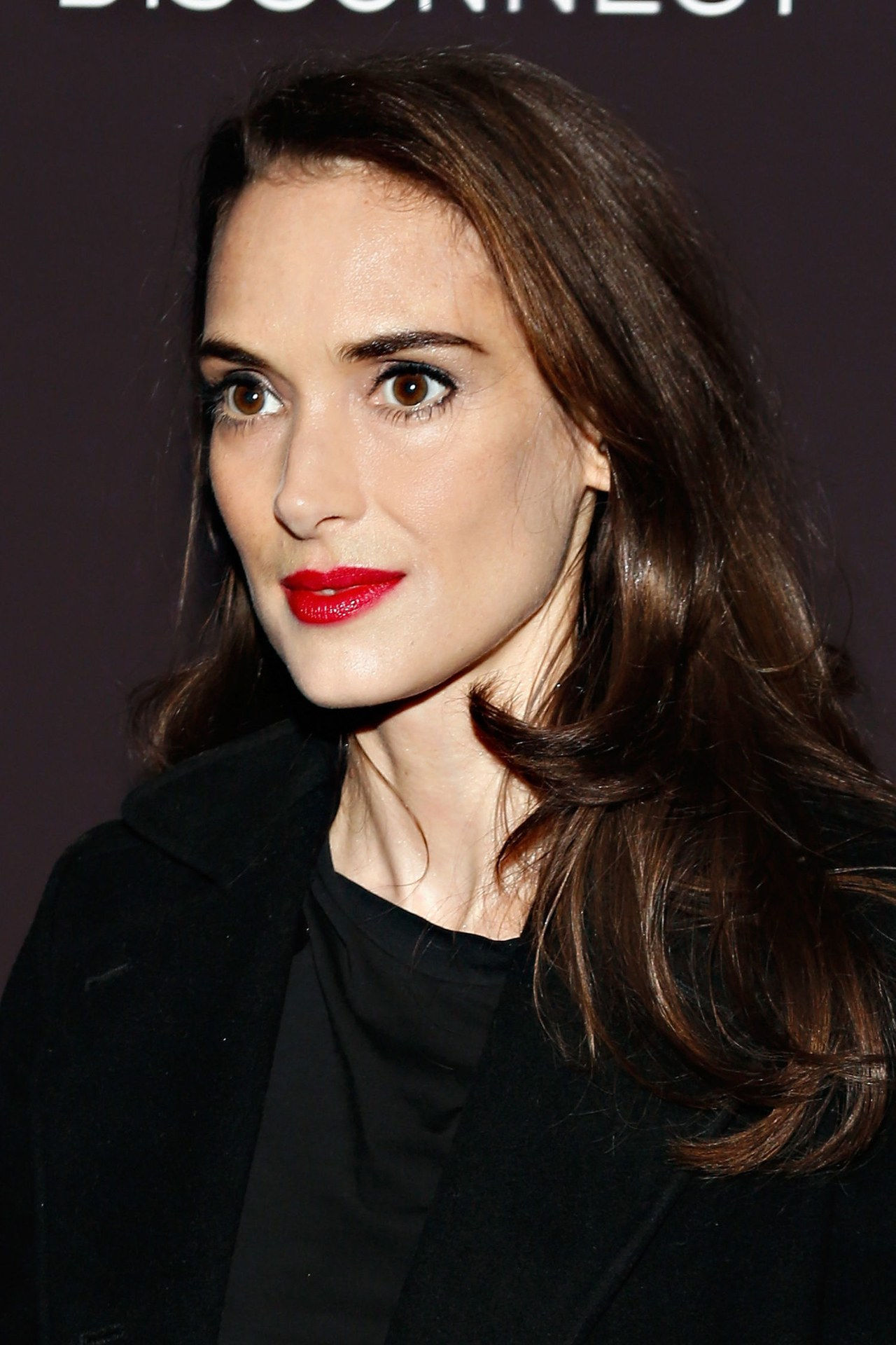 Winona ryder red lips anti aging secrets