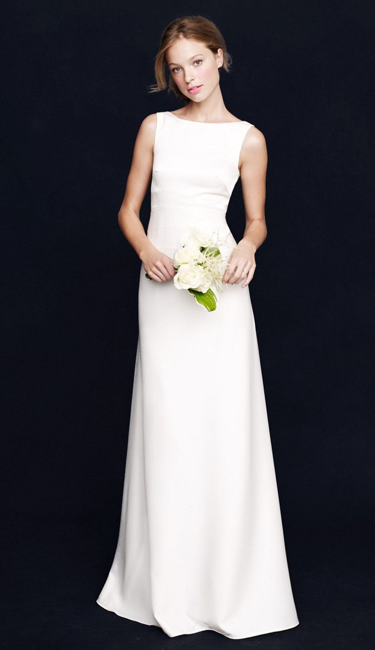 5 minimalist wedding dresses jcrew 0922