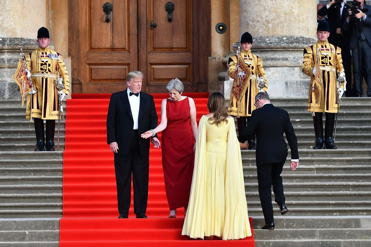 ब्लेंहिएम Palace Reception For U.S. President Donald Trump