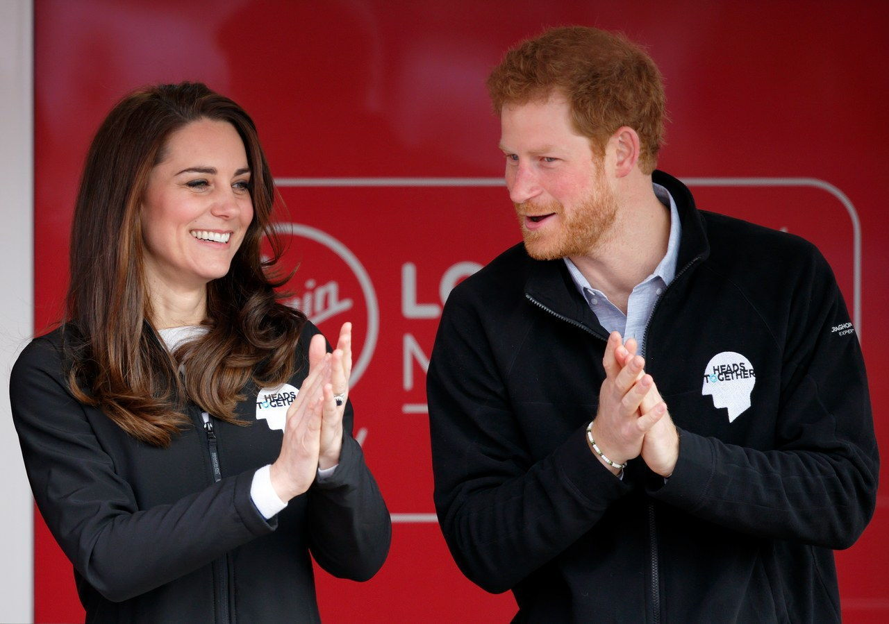 ο Duke & Duchess Of Cambridge And Prince Harry Attend The Virgin Money London Marathon