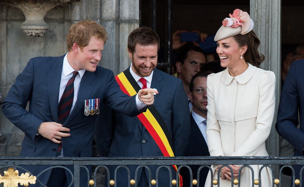 Δούκας & Duchess Of Cambridge And Prince Harry Attend Grand Place