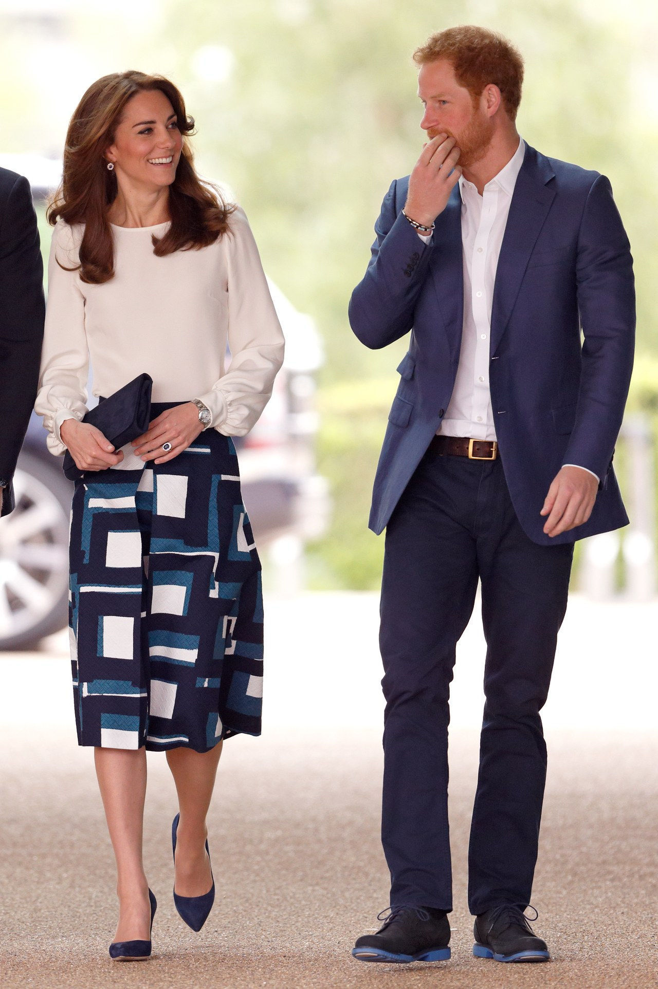 ο Duke And Duchess Of Cambridge And Prince Harry Attend The Launch Of Heads Together Campaign