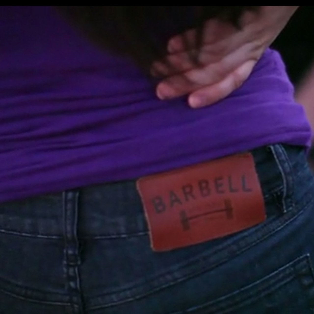 barbell jeans
