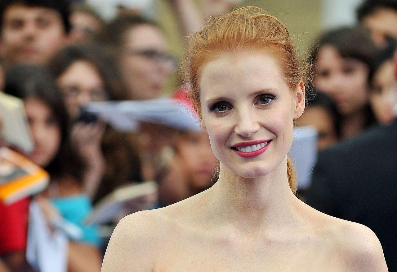 Jessica chastain eye makeup