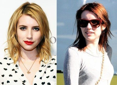 0309 emma roberts brown hair bd