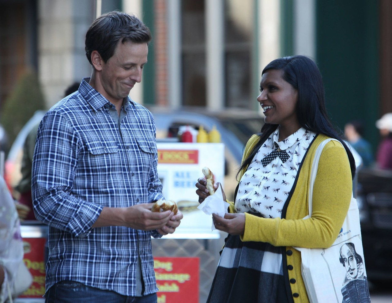 סת ' meyers mindy project