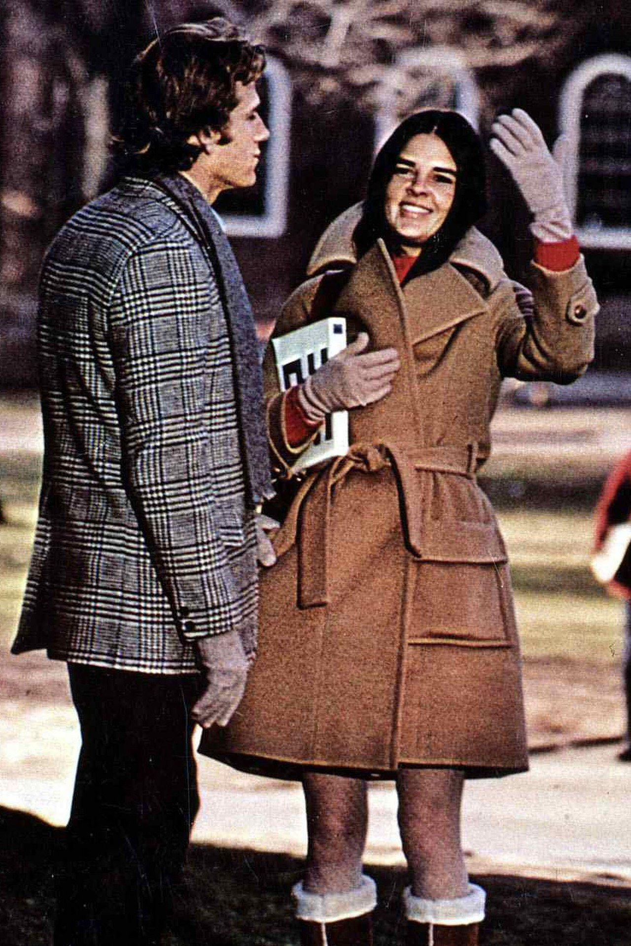 parhaat coats in movies love story 1970 wool trench