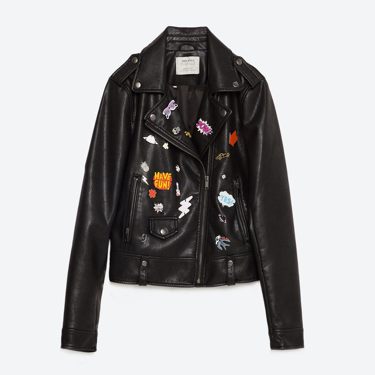 kevät leather jacket zara