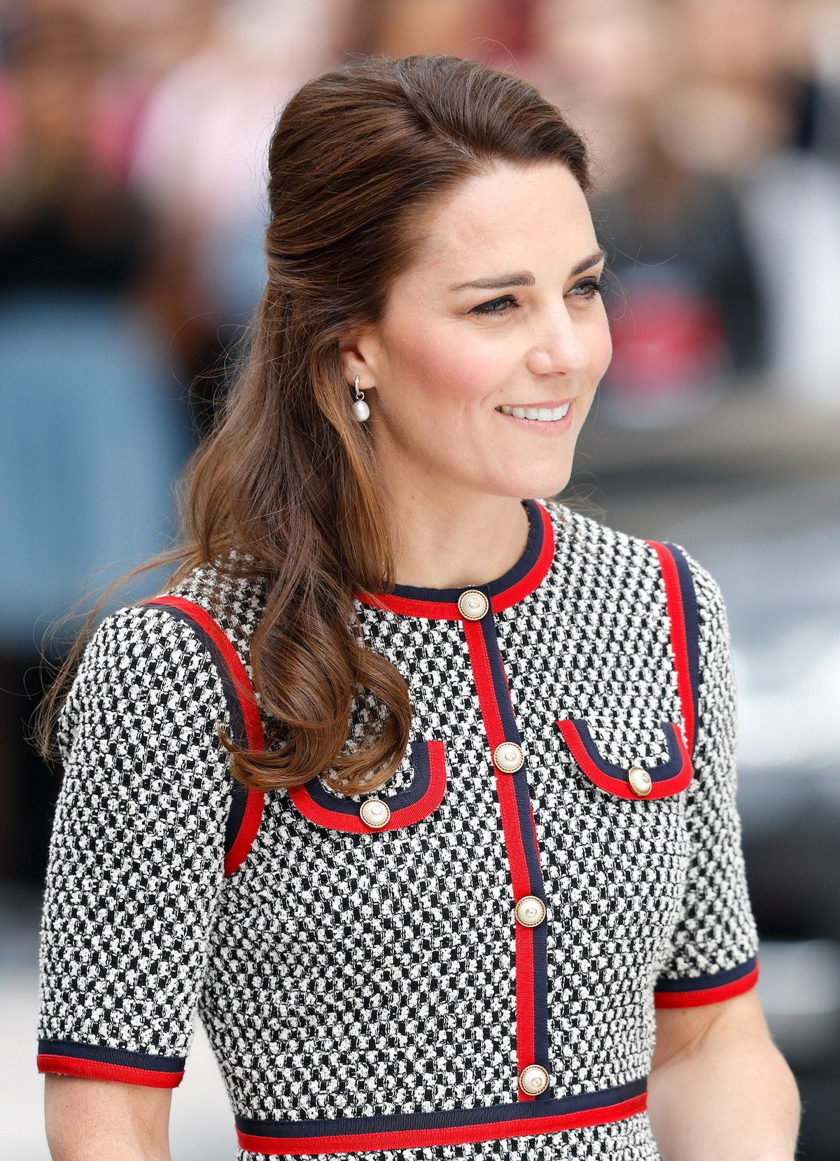 Duchess Of Cambridge Visits The New V&A Exhibition Road Quarter