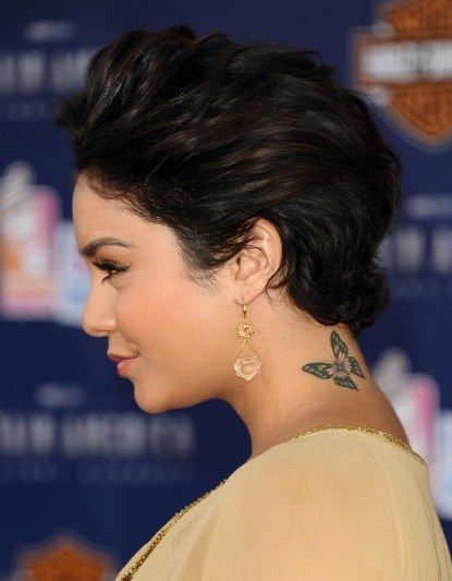 0720 vanessa hudgens short hair side bd