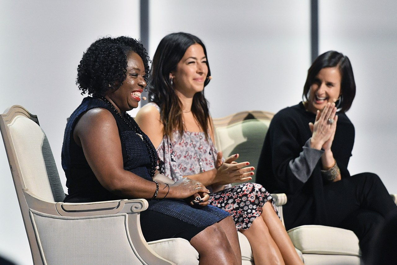 किम्बर्ली Bryant, Rebecca Minkoff, and Danielle Brown